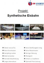 Projekt: Synthetische Eisbahn